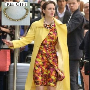 *As Seen on Gossip Girl* NWT Peter Som Silk Dress